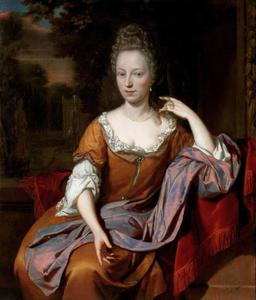 Portret van Johanna Anthonetta Blonk (1665-1697)