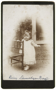 Portret van K Schuurbeque Boeye