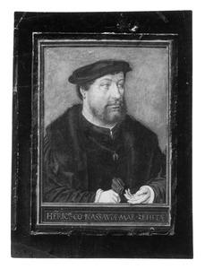Portret van Hendrik III van Nassau-Breda