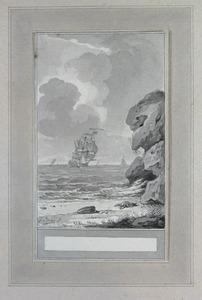 Illustratie bij 'De jonge kreeft en de zeemossel' uit de Fabelen en vertelsels van F.C. Gellert