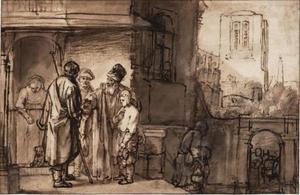 Benjamin vertrekt met zijn broers naar Egypte