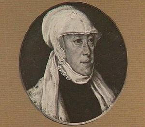 Portret van Maria van Hongarije (1505-1568), landvoogdes der Nederlanden