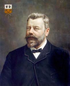 Portret van Hendrik Maurits Jacobus van Loon (1831-1901)