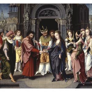 Het huwelijk van Maria