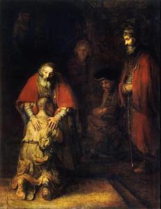 De terugkeer van de verloren zoon (Lucas 15: 20-24)