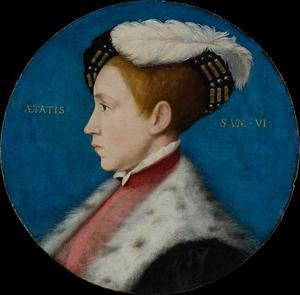 Edward VI als hertog van Cornwall