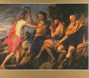 Het oordeel van Midas (Ovidius, Met. XI, 146-179)