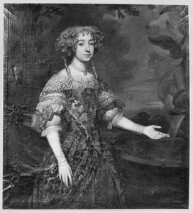 Portret van waarschijnlijk Maria Graswinckel (1649-1710)