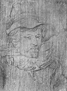 Portret van een man, mogelijk Gillis van Breen