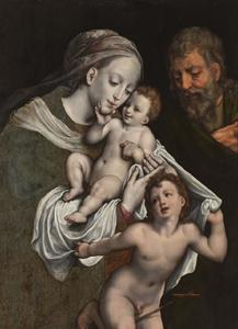 Heilige familie met Johannes