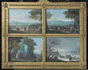 Vier landschappen, vier seizoenen