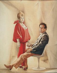 Portret van Miep en Loek Brons