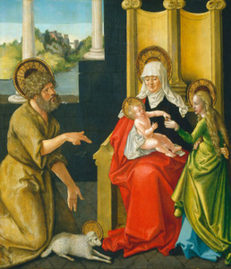De HH. Anna-te-Drieën en Johannes de Doper
