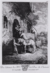 De barmhartige Samaritaan brengt de gewonde reiziger naar een herberg (Lucas 10:25-37)
