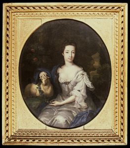 Portret van Anna Jacoba Hoeufft (1688-1751)
