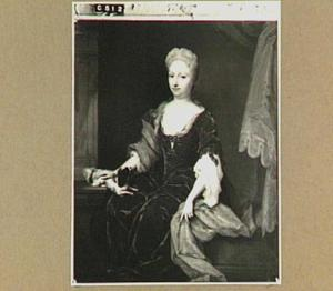 Portret van Françoise Fagel (1680-1762)