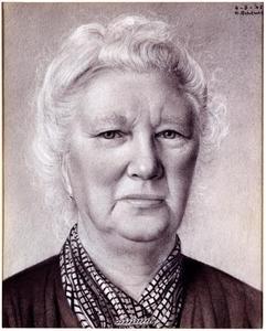 Portret van Aaltje Ottens (1870-1952)