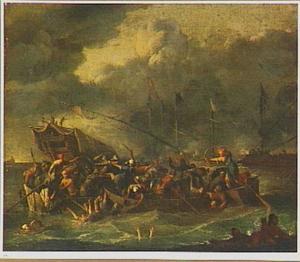 Zeeslag tussen de Turken en de Christenen