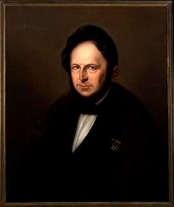 Portret van Albert Otto Ernst graaf van Limburg Stirum (1803-1858)