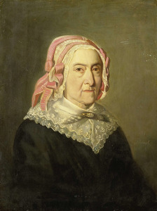 Portret van Sientje Servaas (1767- )