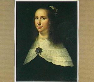 Portret van Volckera van Beresteyn (1624-1653), echtgenote van Salomon van Schoonhoven