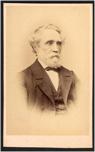 Portret van de schilder J.H. Breijer jr. (1818-1894)