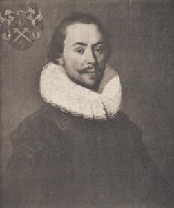Portret van waarschijnlijk Laurens Adriaenze de Jonge (1596-1651)