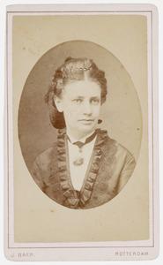 Portret van Classina Catharina Wilhelmina van Wageningen (1845-1918)