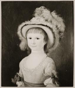 Portret van Jacoba Johanna Geertruida van Tets (1780-1832)