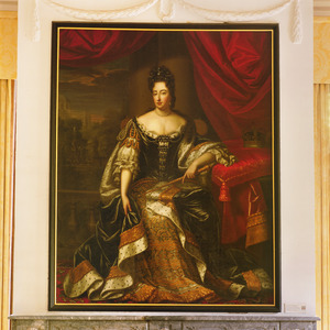 Portret van koningin Mary