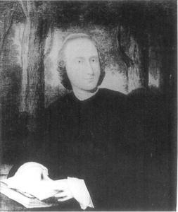 Portret van Louis Fabricius Dubourg (1693-1775)