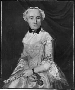 Portret van Geertruida van der Nisse (1732-1796)