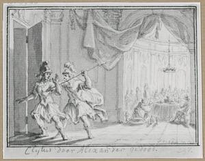 Alexander de Grote vermoordt Clythus