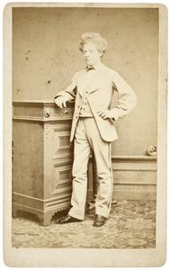 Portret van Christiaan Reynier Schuller tot Peursum (1854-1903)