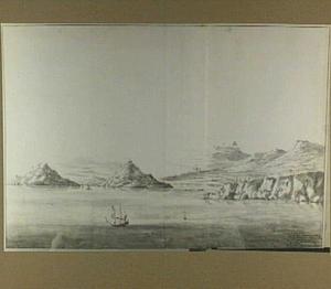 Zuidkust van Attica met doorvaart naar Athene