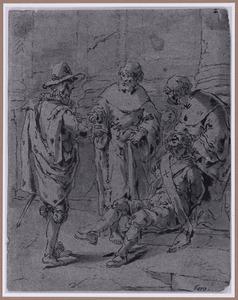 De bezeten deurwaarder (Suenos 1641, boek I, tweede droom)