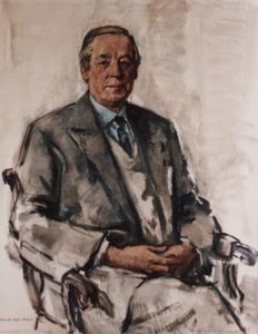 Portret van Constant Theodore Emmo van Lynden van Sandenburg (1905-1990)