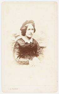Portret van Johanna Elisabeth van Meurs (1813-1868)