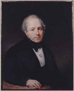 Portret van een man, mogelijk Willem Frederik de Mauregnault (1790-1878)