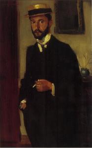 Portret van Hendrik Theodoor de Court Onderwater (1877-1905)