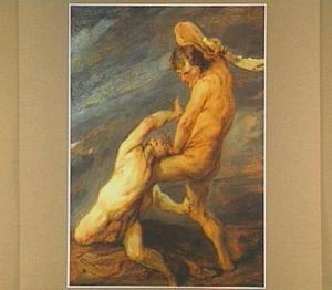 Kaïn vermoordt Abel met een kakebeen (Genesis 4: 2-12)