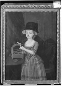 Portret van Adriana Maria Groeninx van Zoelen (1768-1825)