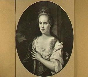 Portret van Bartha Jansdr. de Jonge (1617-1695)
