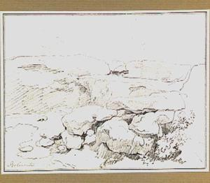 Rotslandschap in de omgeving van Belmonte