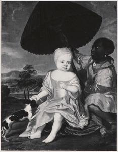 Portret van Elisabeth Albertina van Anhalt -Dessau (1665-1706)