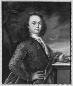 Portret van Derk de Vree (1676-1743)