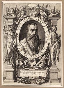 Portret van Julius Caesar Scaliger (1483/1484-1558)