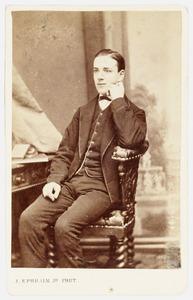 Portret van Hendrik Jonas van der Poel Hiddingh (1850-1926)