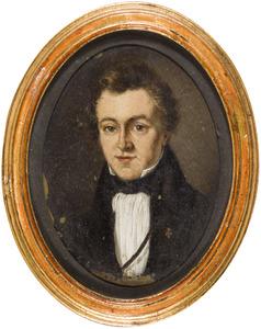 Portret van  Joost Adriaan van Hamel (1810-1885)