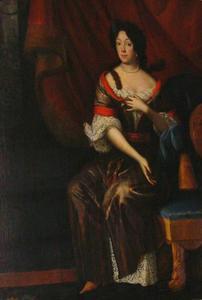 Portret van Johanna Magdalena Hrzanova